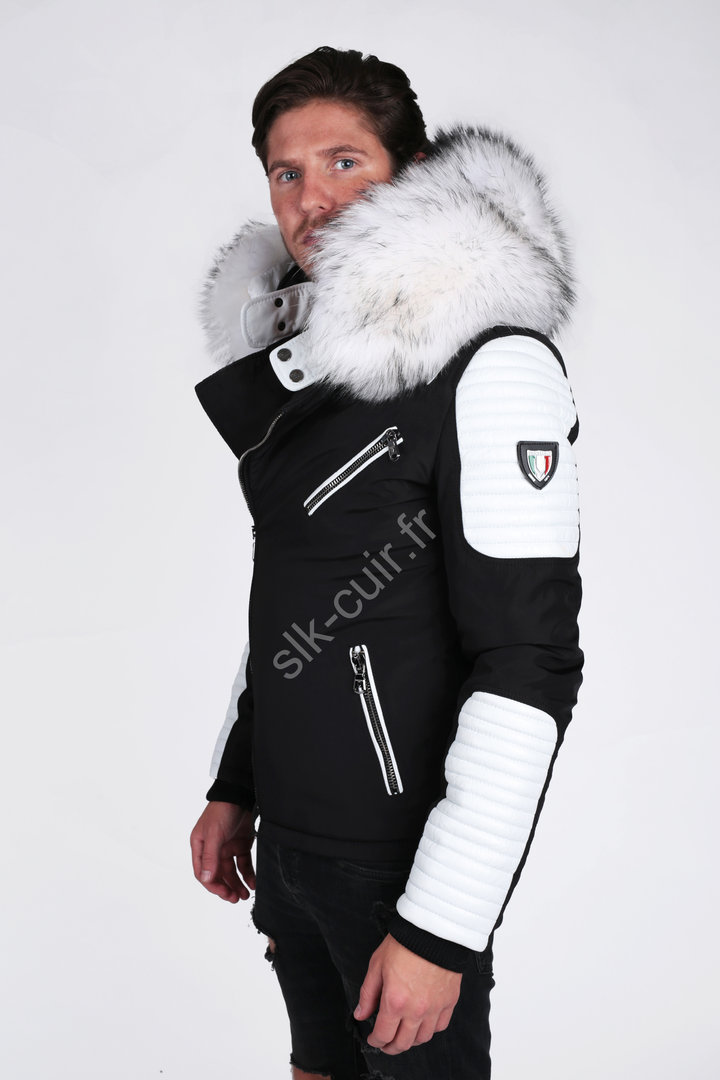 ventiuno ekos blanche veste doudoune
